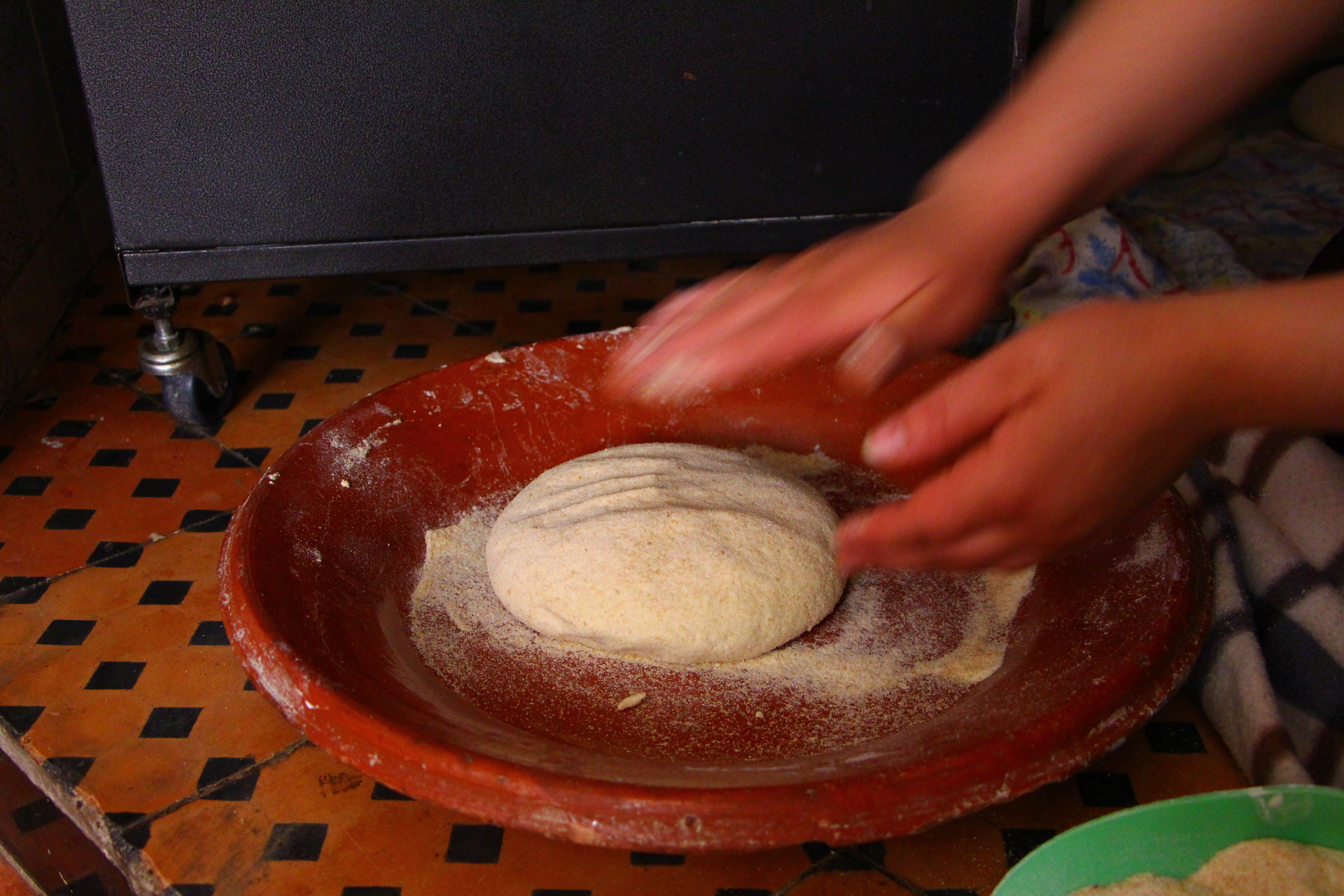 Making bread at home: a good indicator of political and social stability in North African countries. (Photo credit: Katharina Graf, author provided)