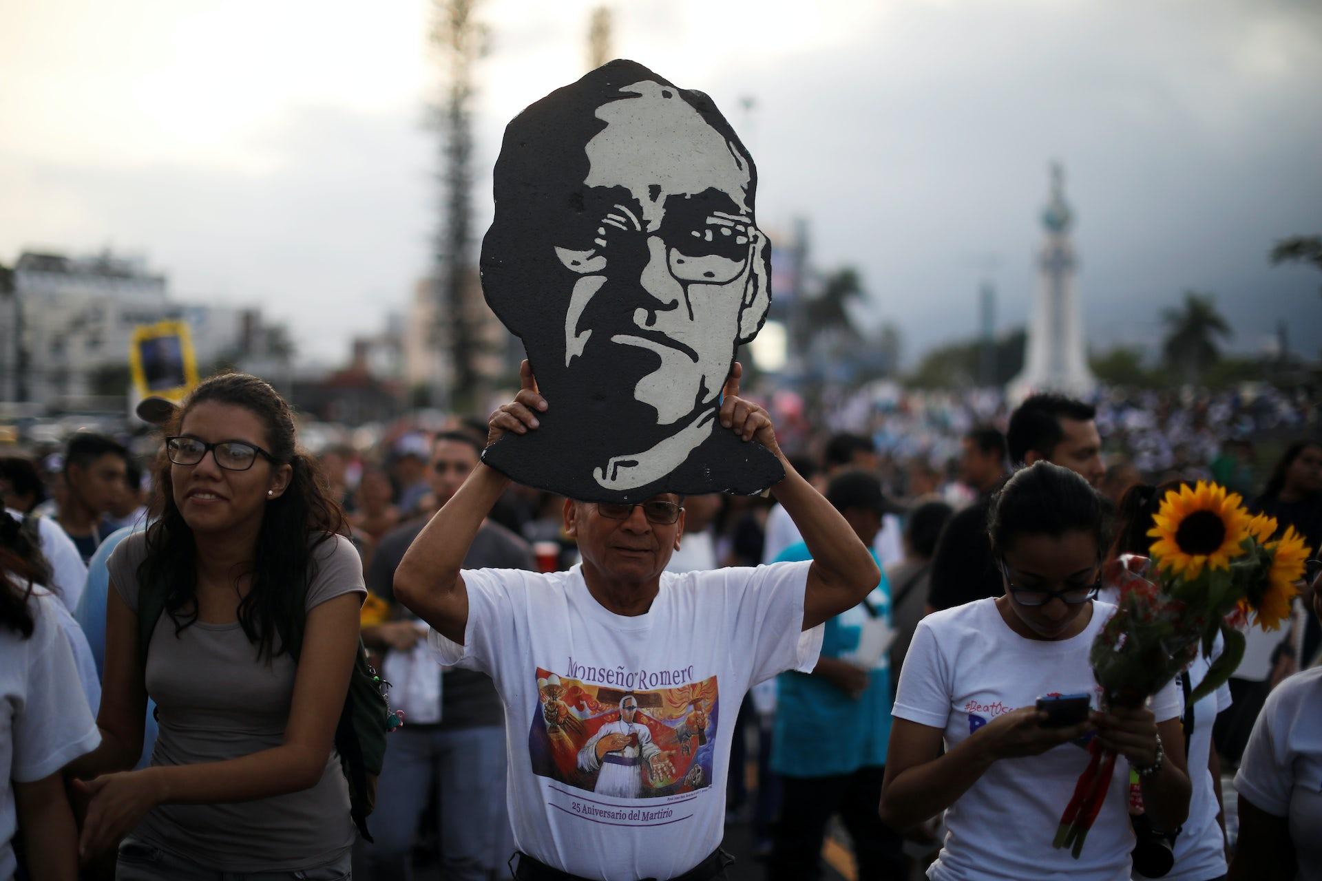 Archbishop Oscar Romero was gunned down inside his own church 38 years ago. Soon he'll become El Salvador's first saint