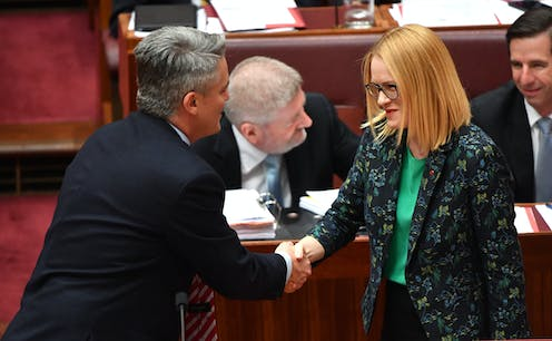 Michelle Grattan on musical chairs in the Senate