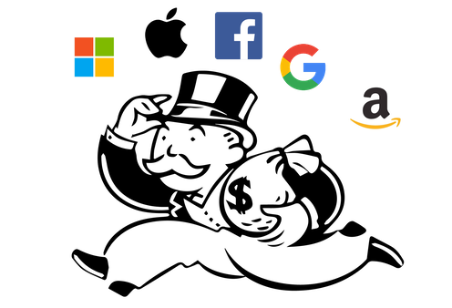 Big Tech' isn't one big monopoly – it's 5 companies all in different