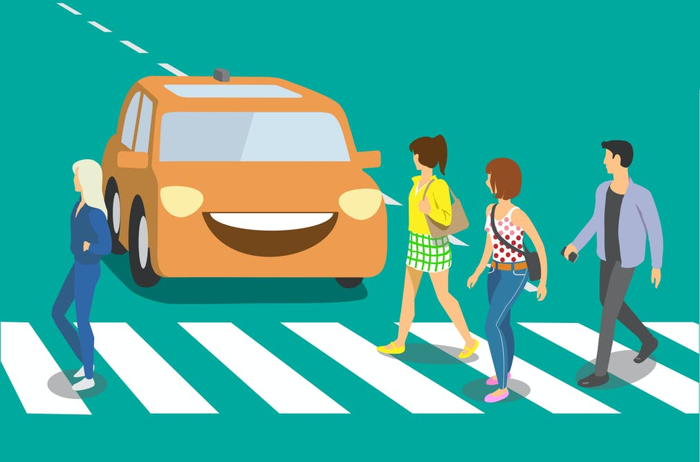 Safe, efficient self-driving cars could block walkable