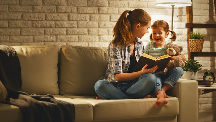 Five tips to help you make the most of reading to your children