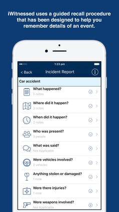 Why we made iWitnessed, an app to collect evidence