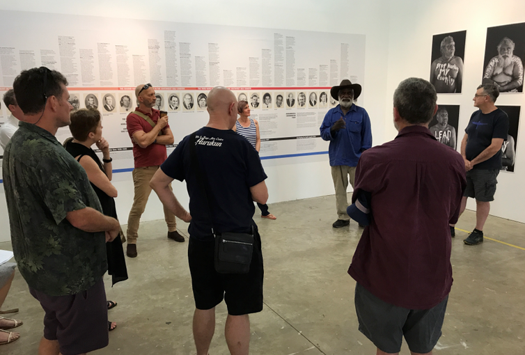 In Open Cut exhibition, protest art challenges visitors to take action