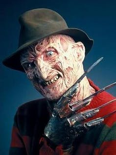 Freddy Krueger, originally conceived as a child molester. Wikimedia Commons