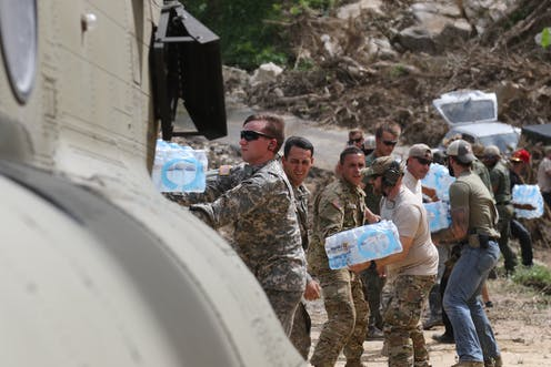 military mission in puerto rico after hurricane was better than