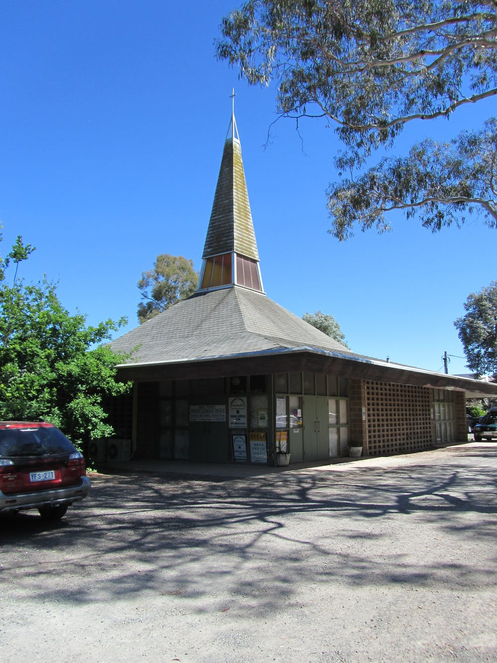 Australia's modern church buildings are disappearing
