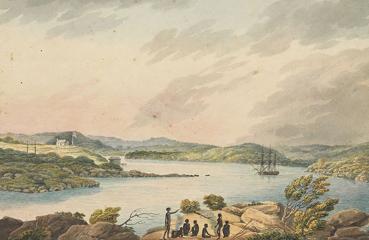 how the First Fleet got a first taste of Australia's unforgiving climate
