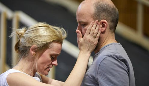 Anne-MarieDuff and Rory Kinnear as the Macbeths.