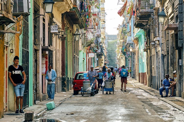 Loosened economic restrictions have led to a surge of investment in Havana over the past decade. Photo credit: Pedro Szekely/flickr, CC BY-SA