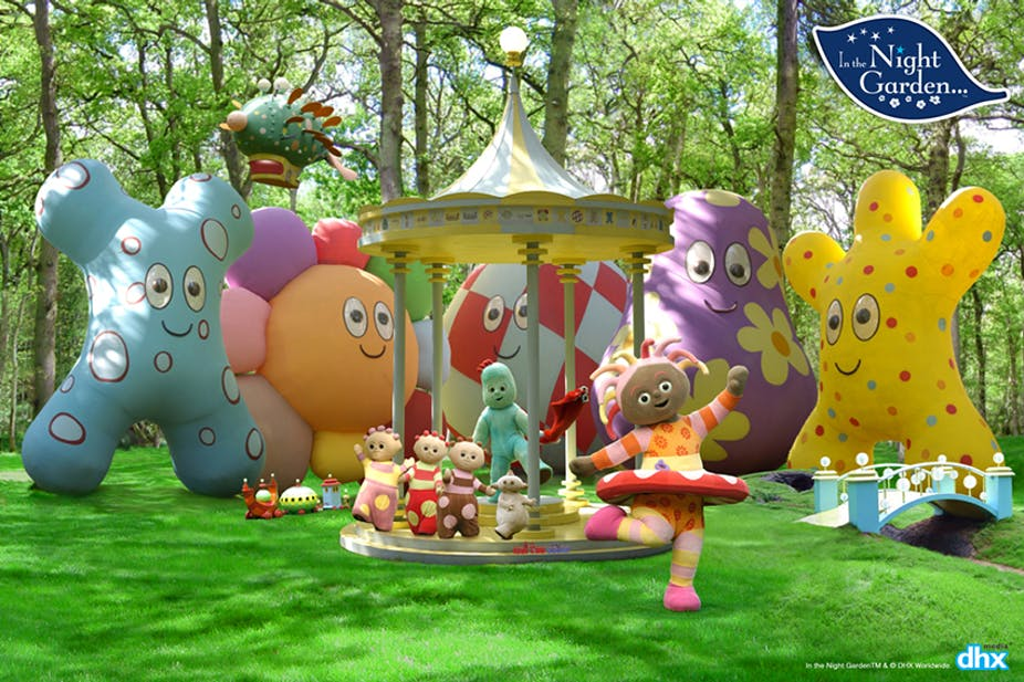 In the Night Garden: how Igglepiggle and his friends talk your ...
