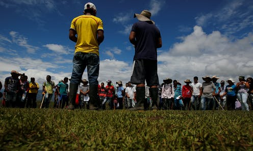colombia s murder rate is at an all time low but its activists keep