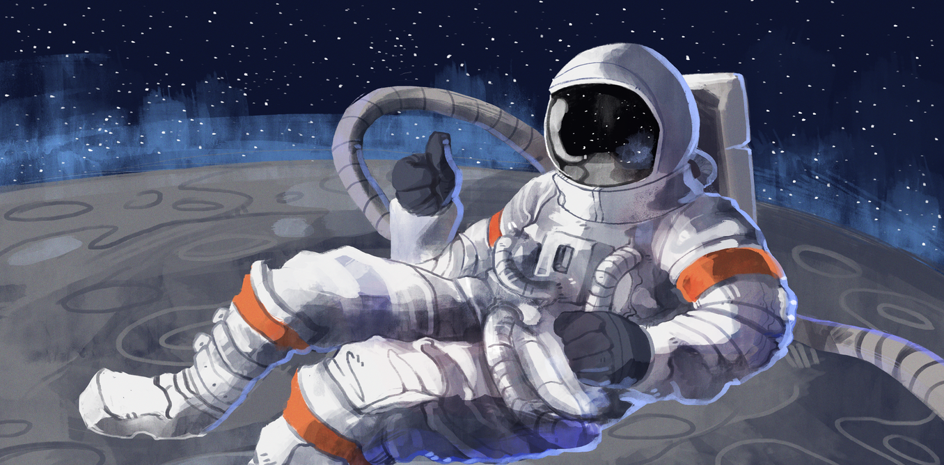 in a spaceship and astronaut feels weightlessness why - photo #8