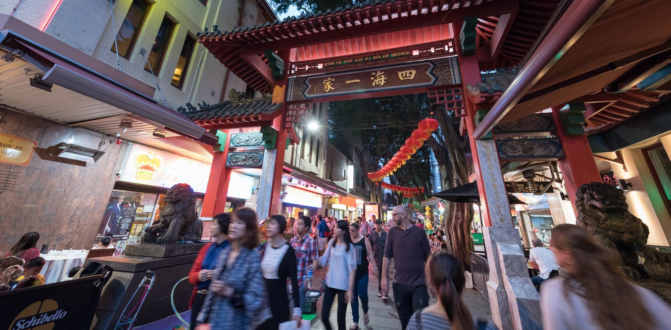 Sydney's Chinatown is much more of a modern bridge to Asia than a historic enclave