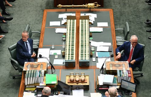 Labor maintains its lead as voters reject company tax cuts; wins on redrawn boundaries