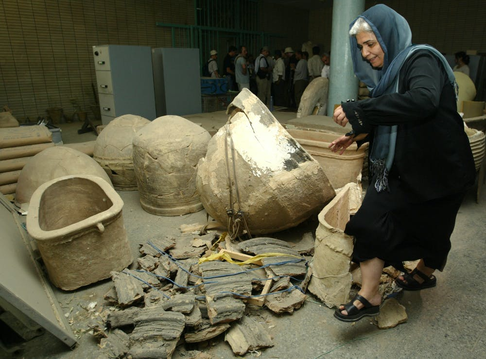 Fifteen years after looting, thousands of artefacts are