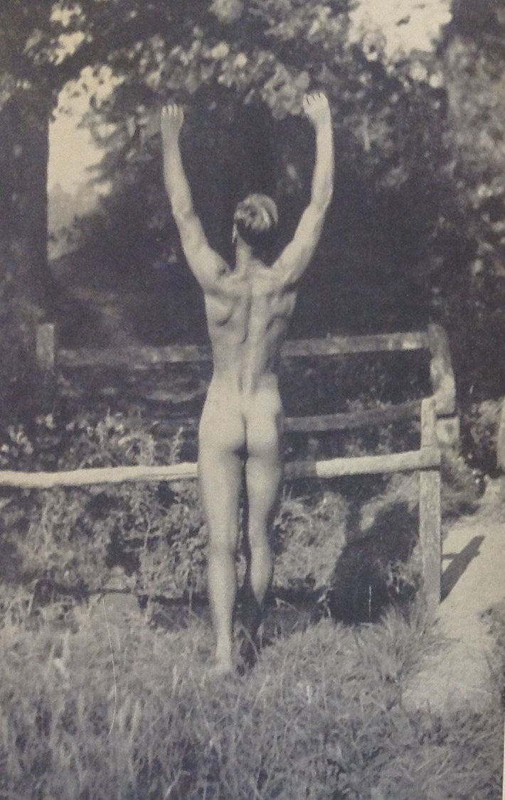 'Sunbathing in Sussex.' Health and Efficiency magazine, 1935. © H&E naturist magazine/Hawk Editorial Ltd., Author provided
