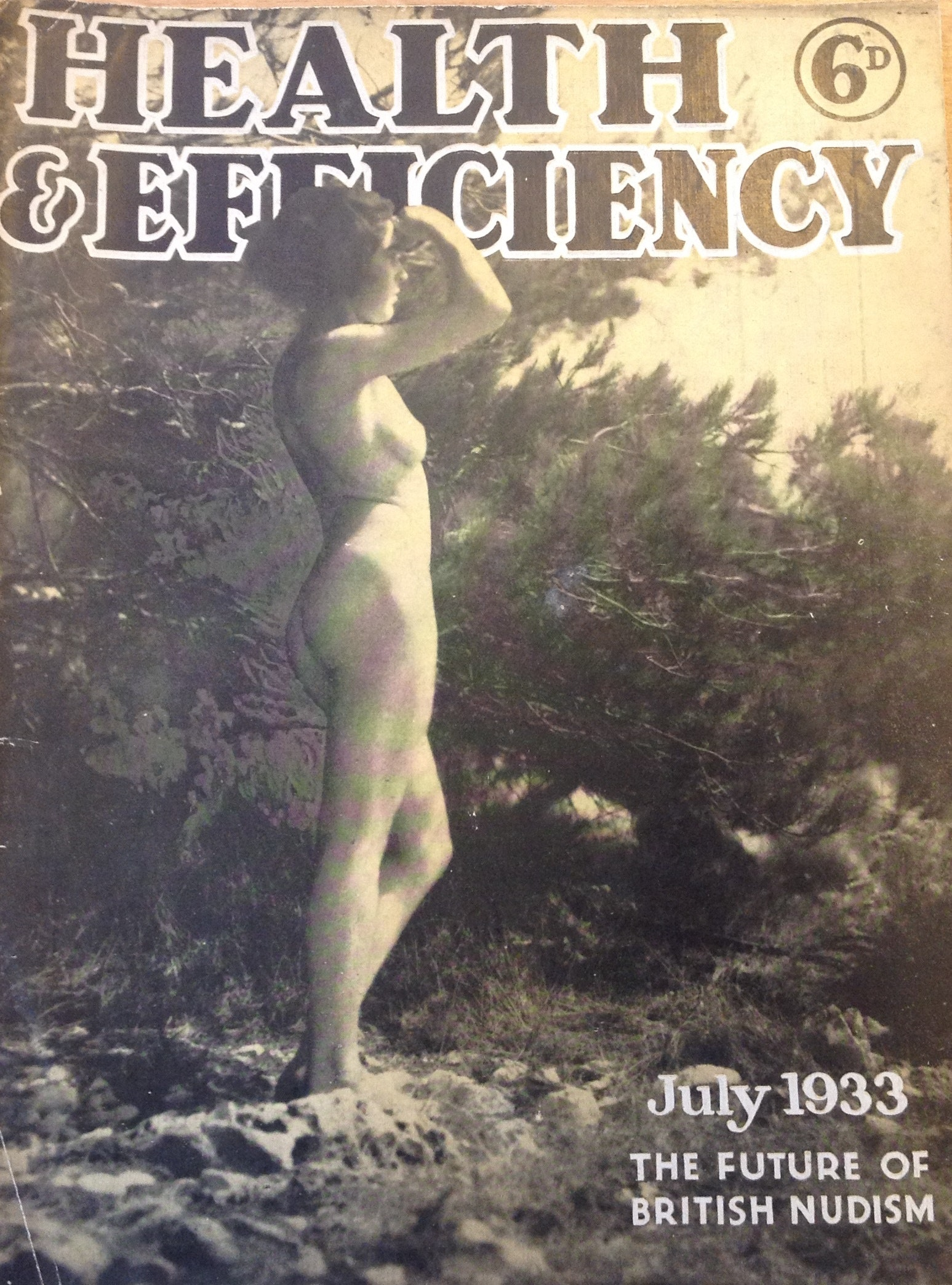 Health and Efficiency magazine, 1933. © H&E naturist magazine/Hawk Editorial Ltd., Author provided