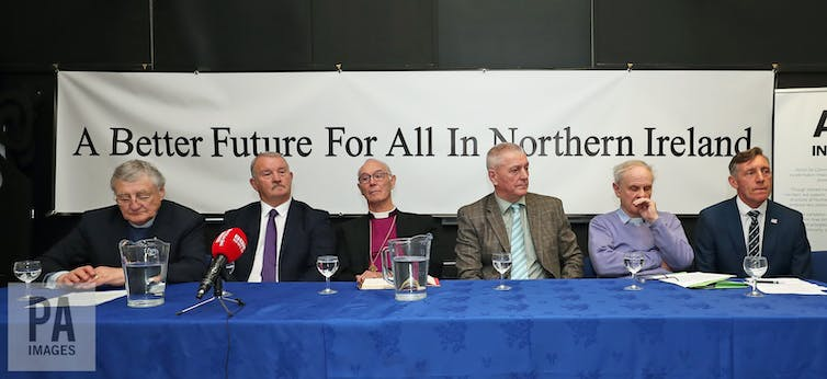 Leadership Of Unionists And Loyalists That Agreed Peace In Northern