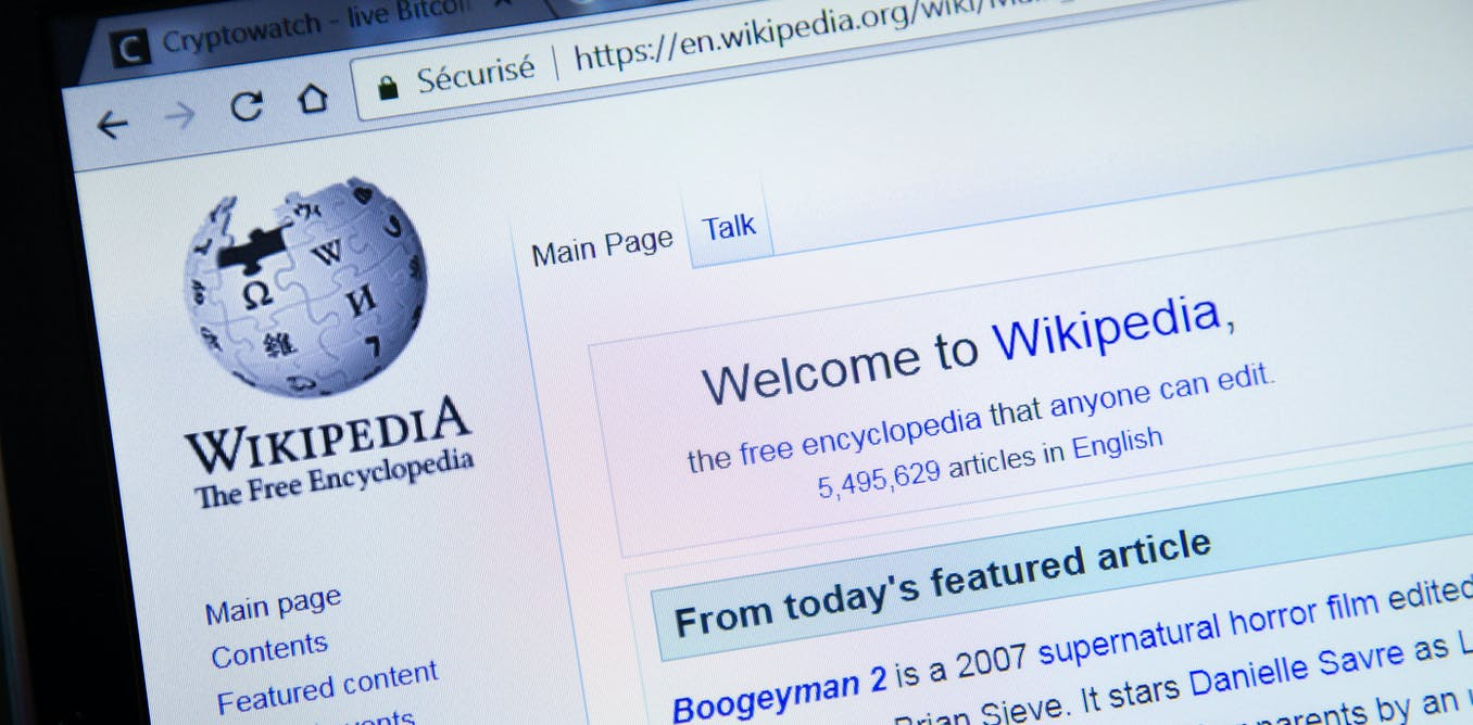 wikipedia blockchain info