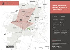 Map from the GCRO project