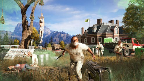 Far Cry 5 Cults Radicalism And Why This Video Game Speaks To Today S Divided America