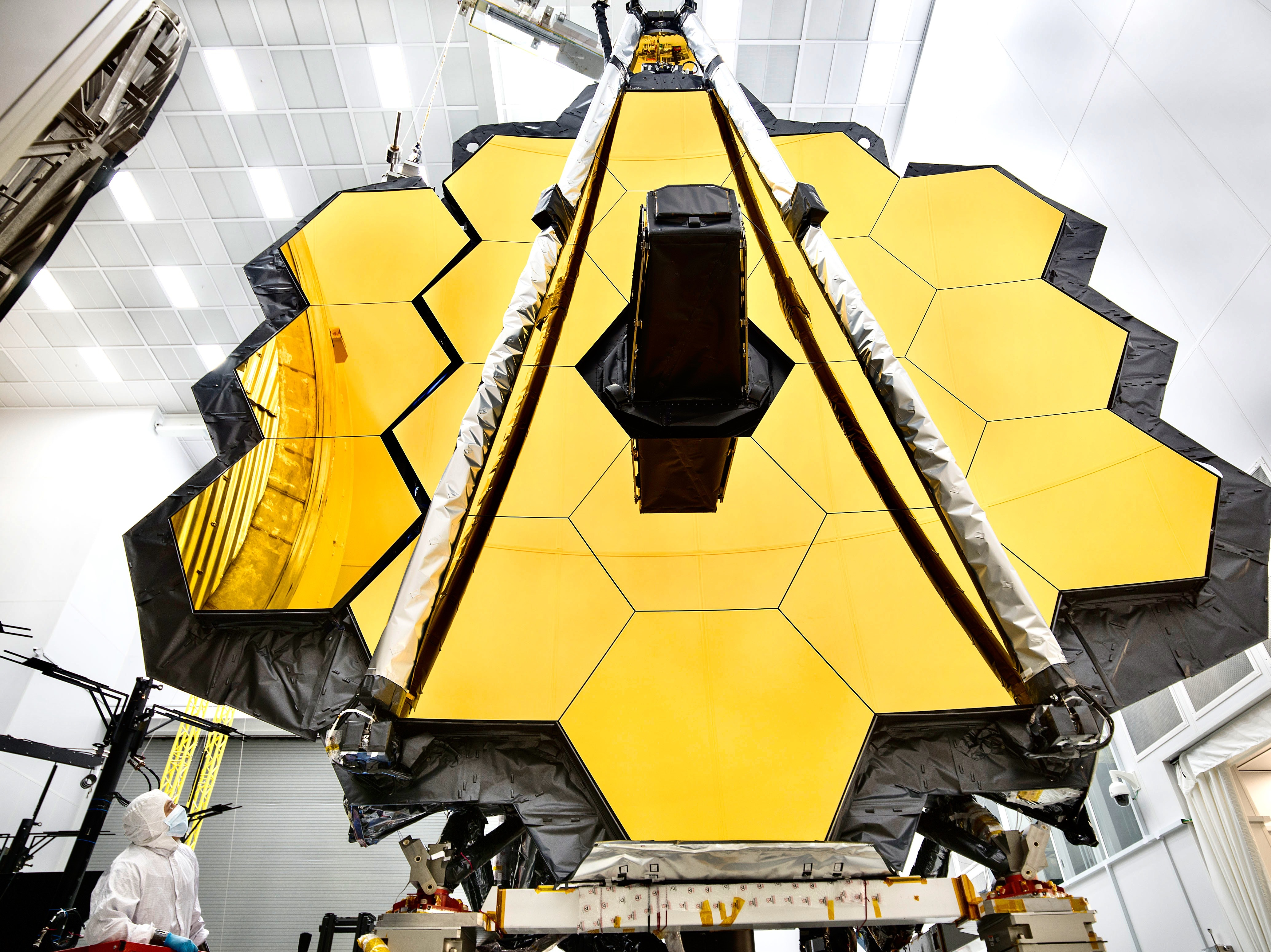 The JWST is currently being readied for launch