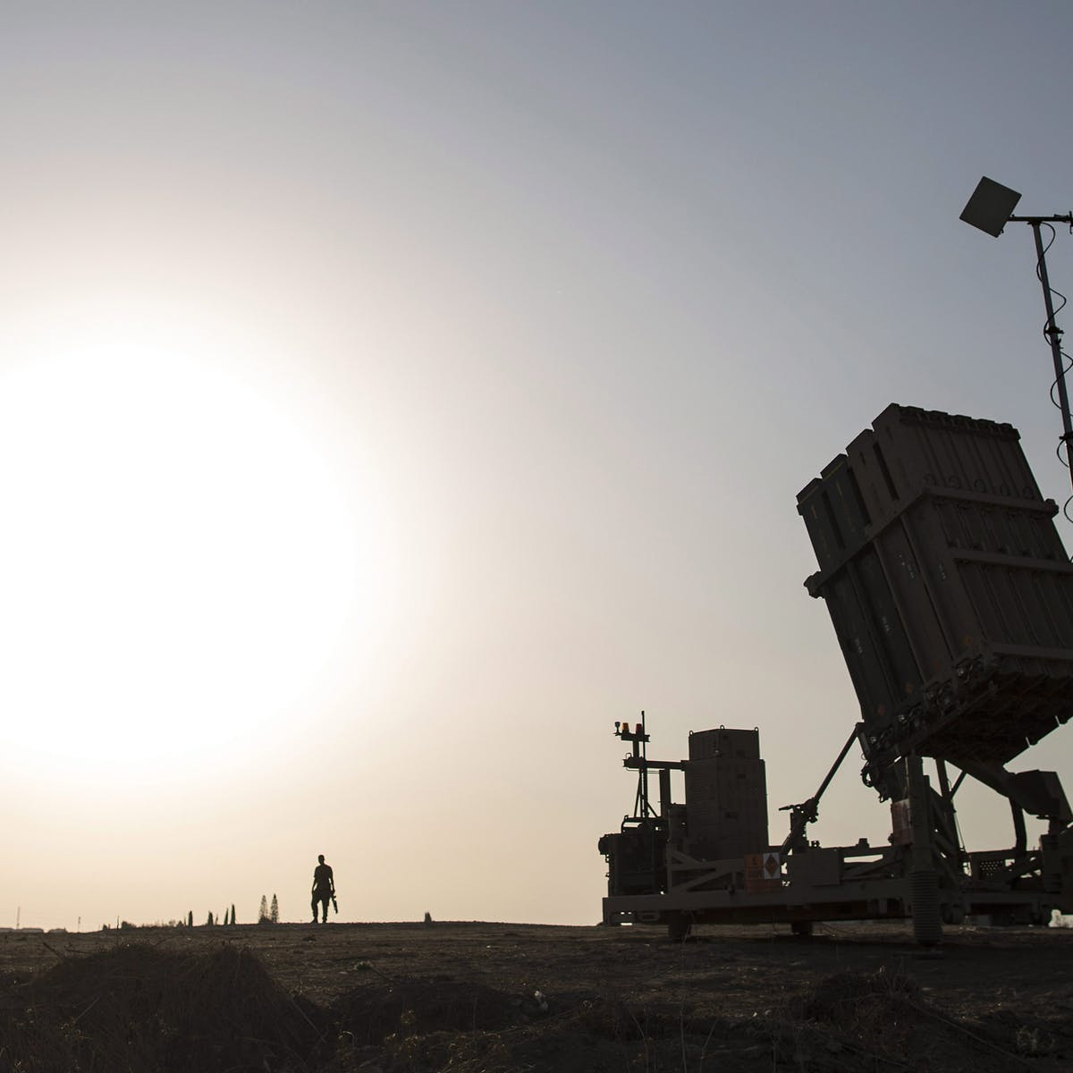 As missiles fly, a look at Israel's Iron Dome interceptor