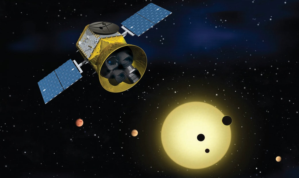 NASA launches satellite 'TESS' in hunt for exoplanets