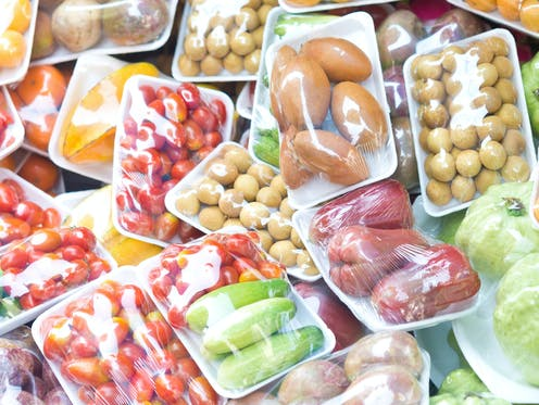 Plastic packaging is often pollution for profit