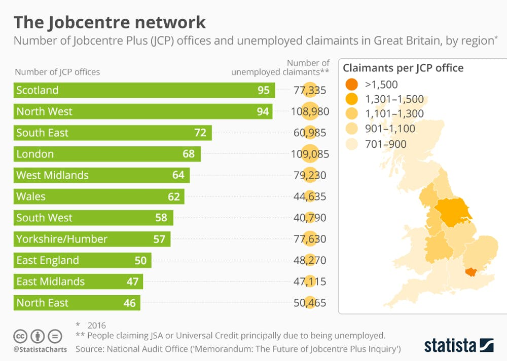 Why are Britain's jobcentres disappearing?