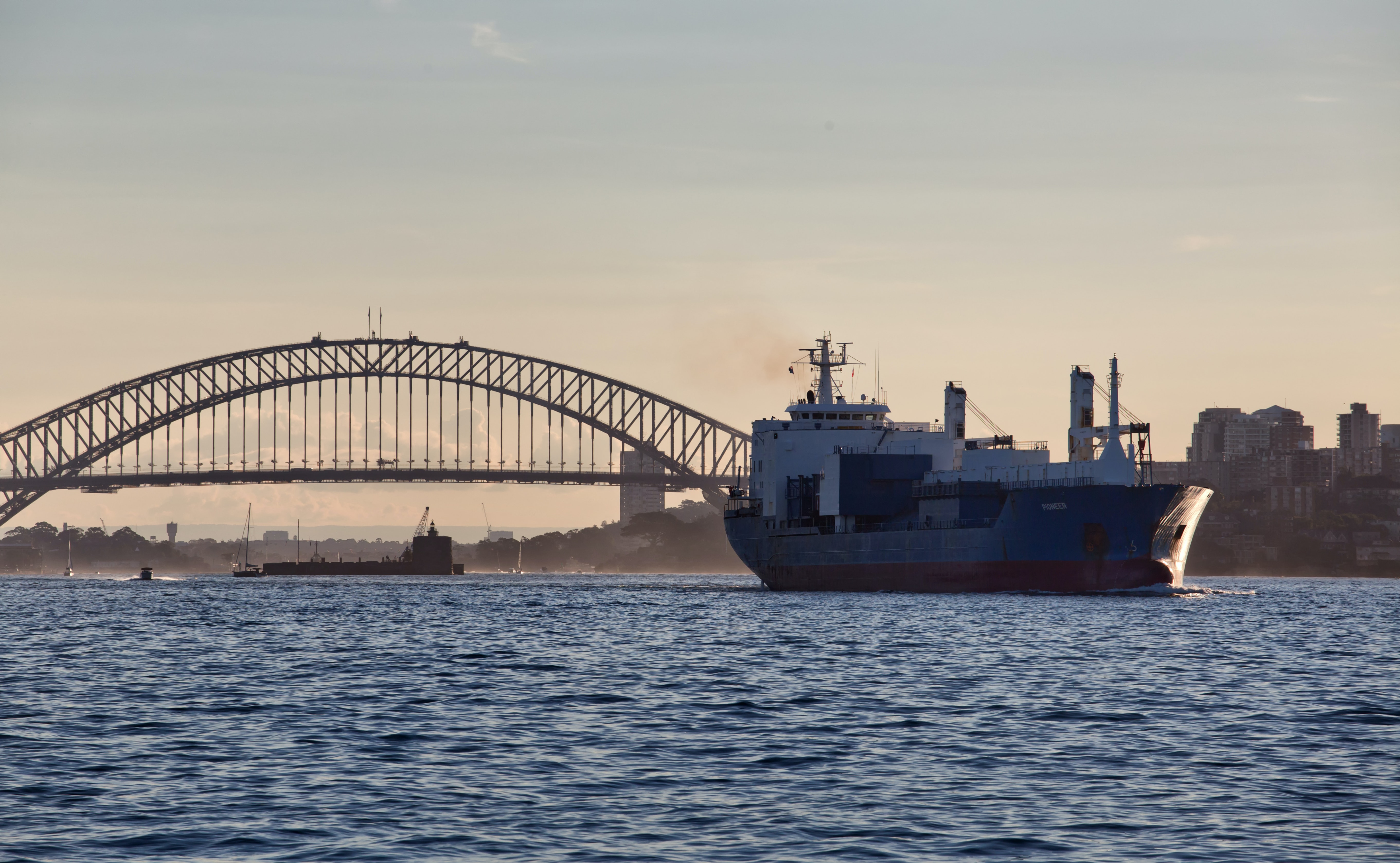 The shipping sector is finally on board in the fight against climate change