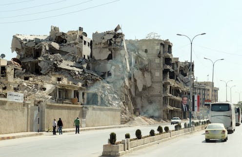 Yes, Syria's Assad regime is brutal. But the retaliatory air strikes are illegal and partisan
