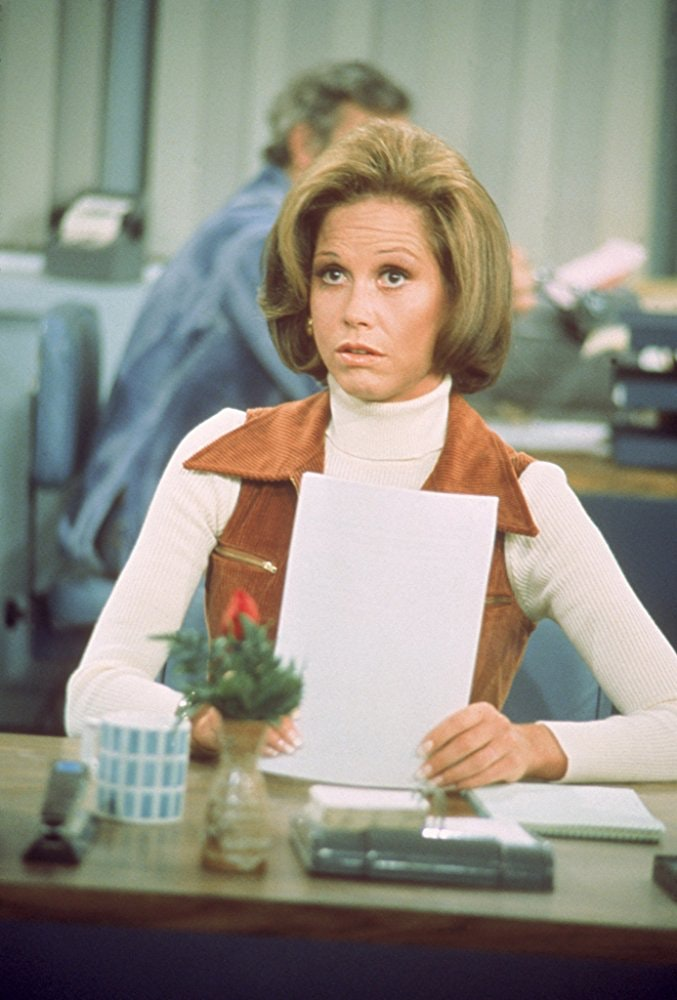 Mary Tyler Moore in The Mary Tyler Moore Show. Photo credit: IMDB.
