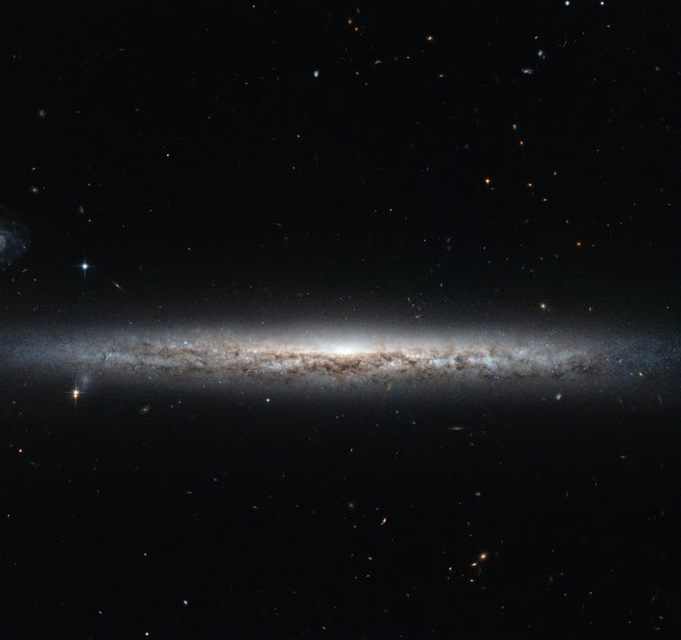 From pancakes to soccer balls, new study shows how galaxies change shape as they age