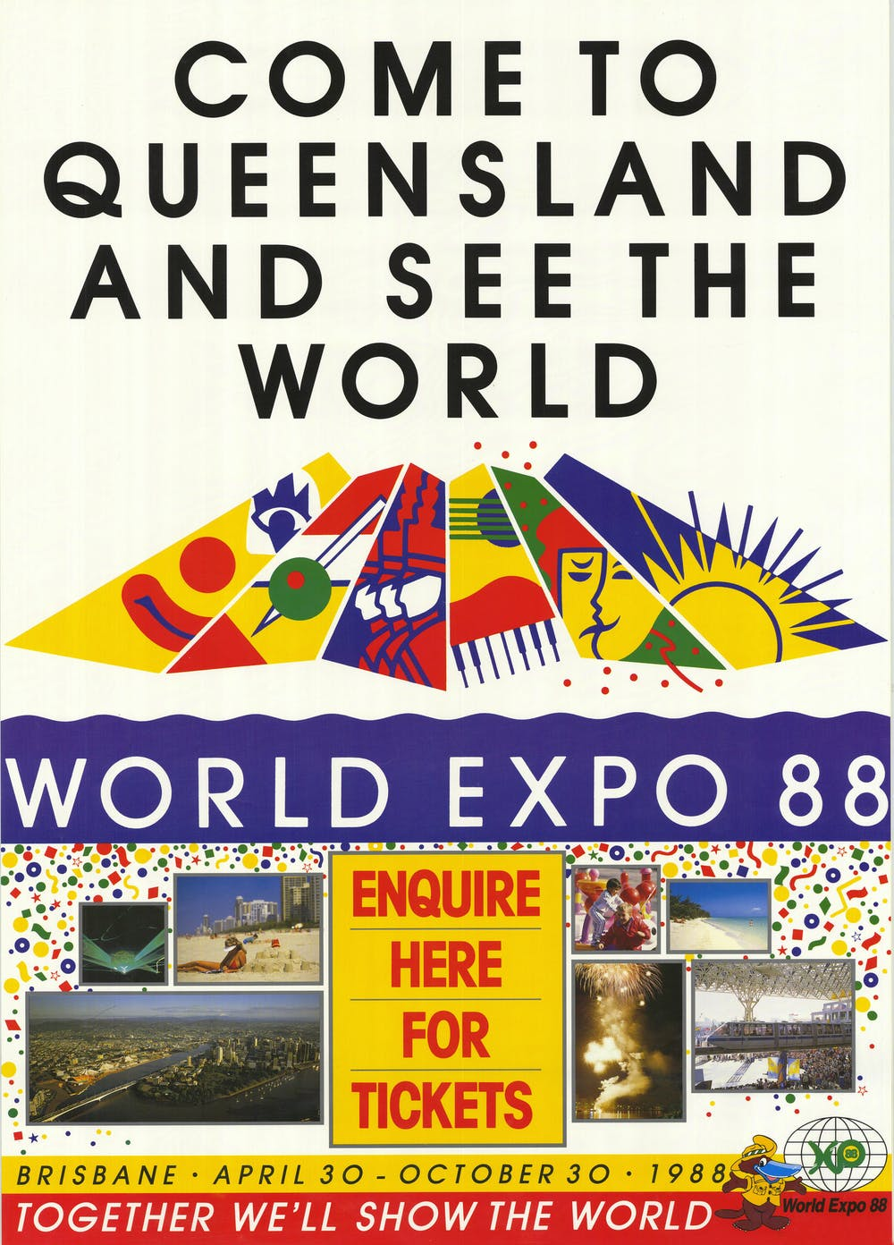 Celebrate '88: the World Expo reshaped Brisbane because no one