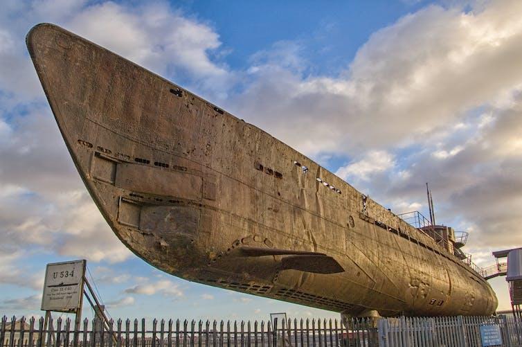 Sunken Nazi U-boat discovered: why archaeologists like me