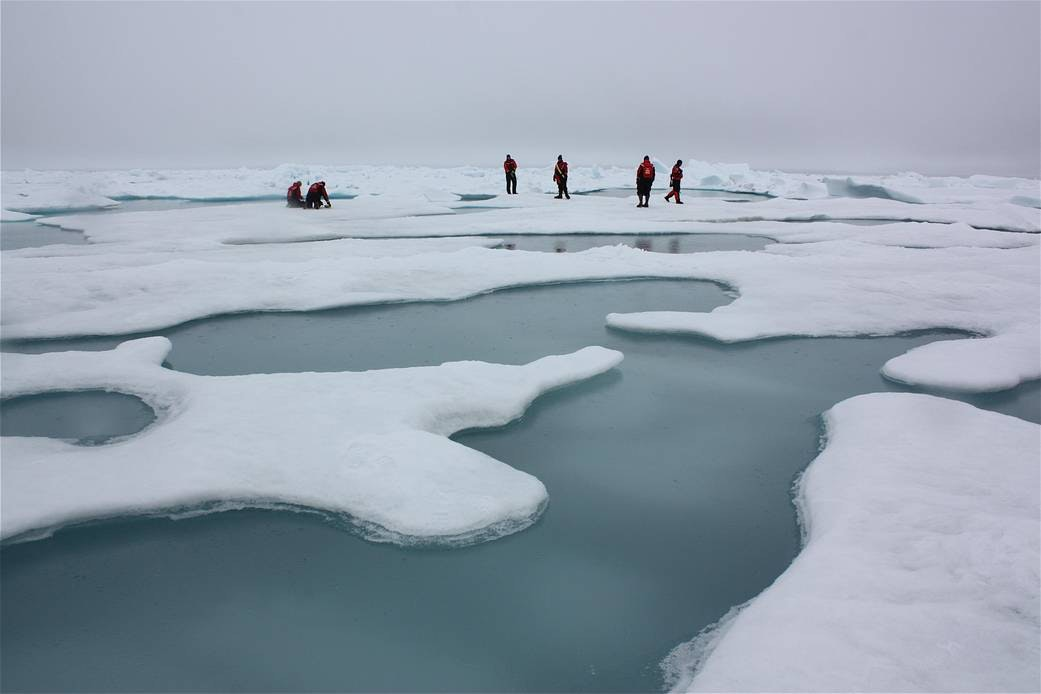 Melting Arctic sends a message: Climate change is here in a big way