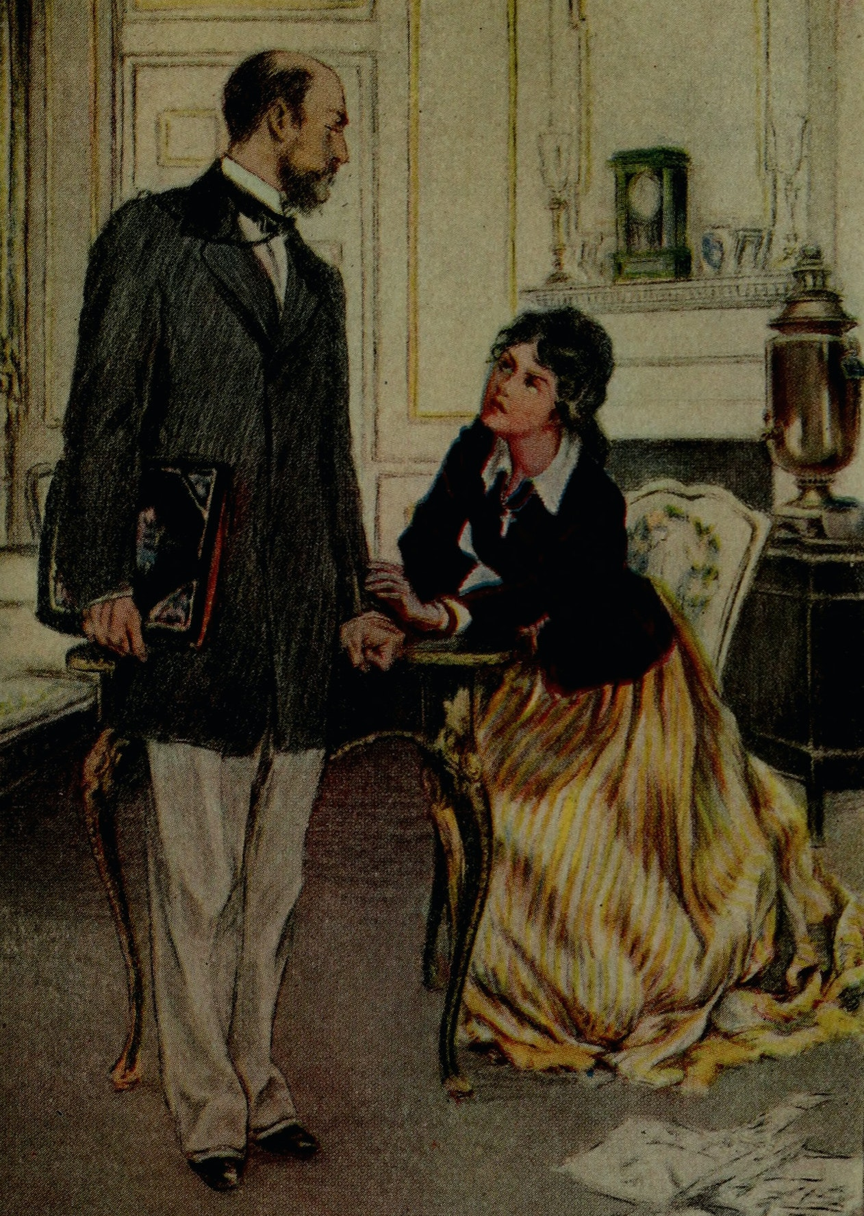 Should a spouse always be the focus of attention? Internet Archive Book Images