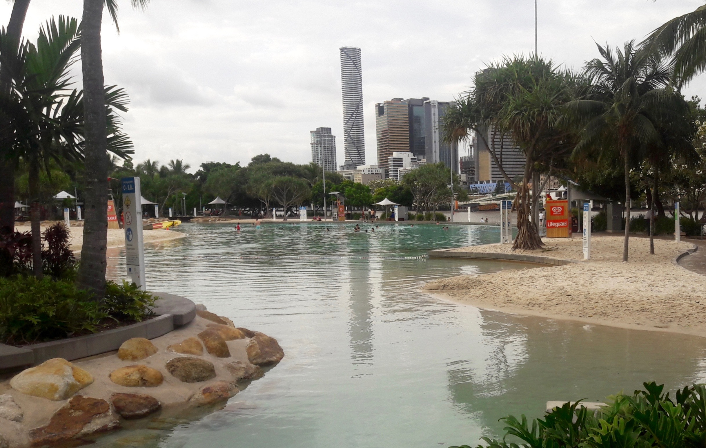 South Bank Parklands today