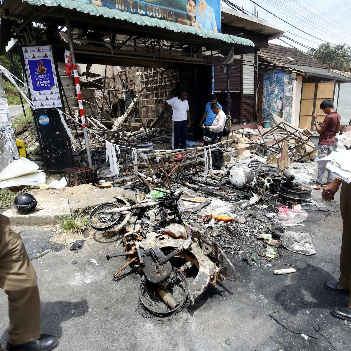 Violent Buddhist extremists are targeting Muslims in Sri Lanka