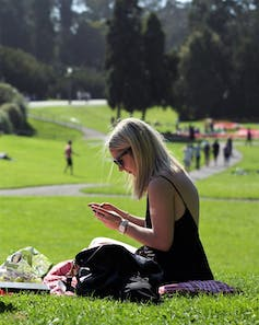 Tweet all about it – people in parks feel more positive