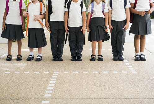 School uniforms: what Australian schools can do to promote