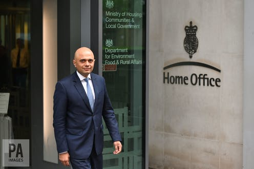 Sajid Javid The Son Of A Stani Bus Driver Who Became