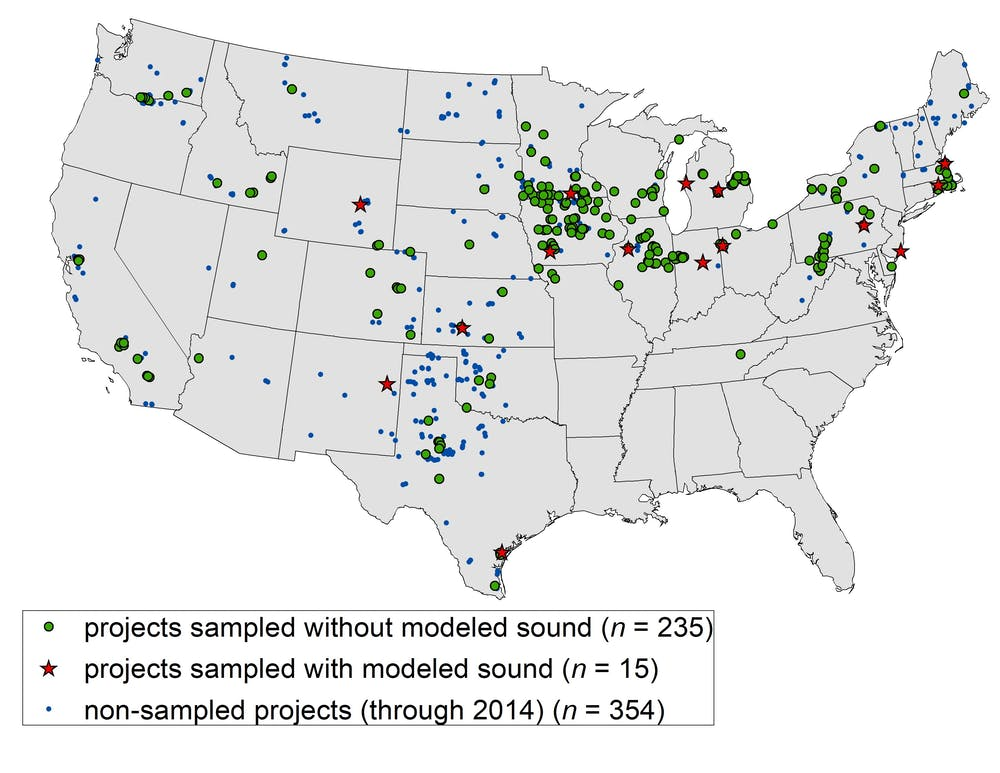 Are Public Objections To Wind Farms Overblown - Map-of-us-wind-farms
