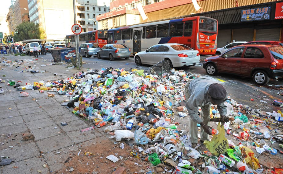 Littering In South Africa Is The Expression Of Wider