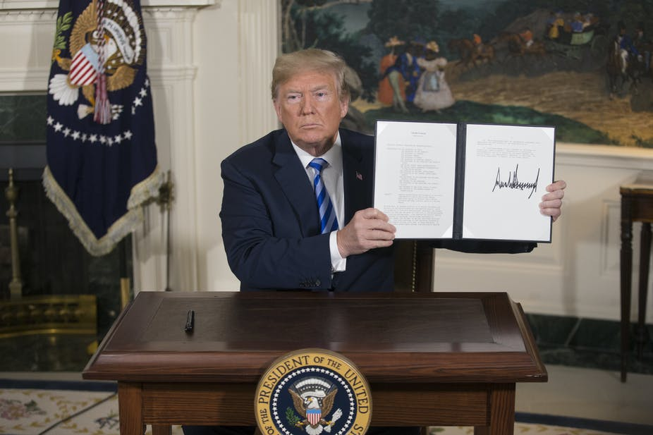 Donald Trump Backs Out Of Iran Nuclear Deal Now What