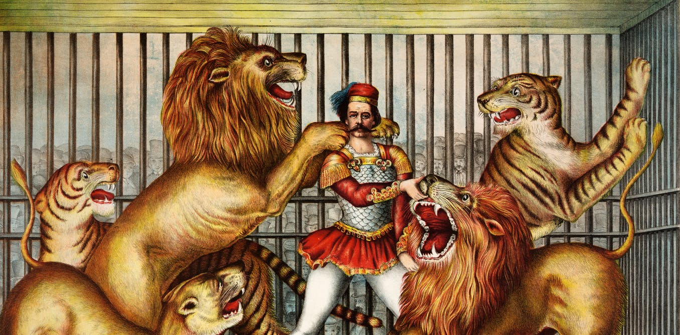 A brief history of lion taming