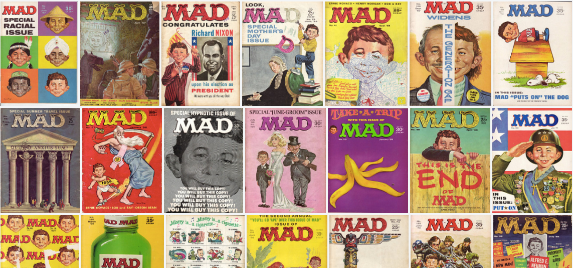 Mad Magazine comedy humor parody satire