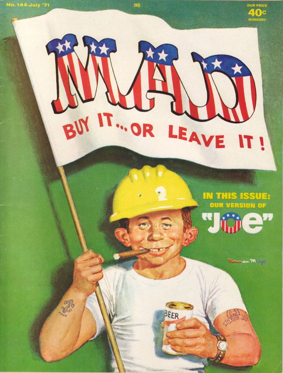 Mad Magazine question authority parody satire humor comedy